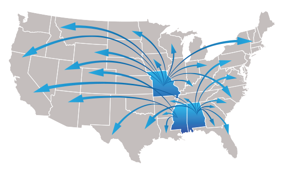 Location services on USA