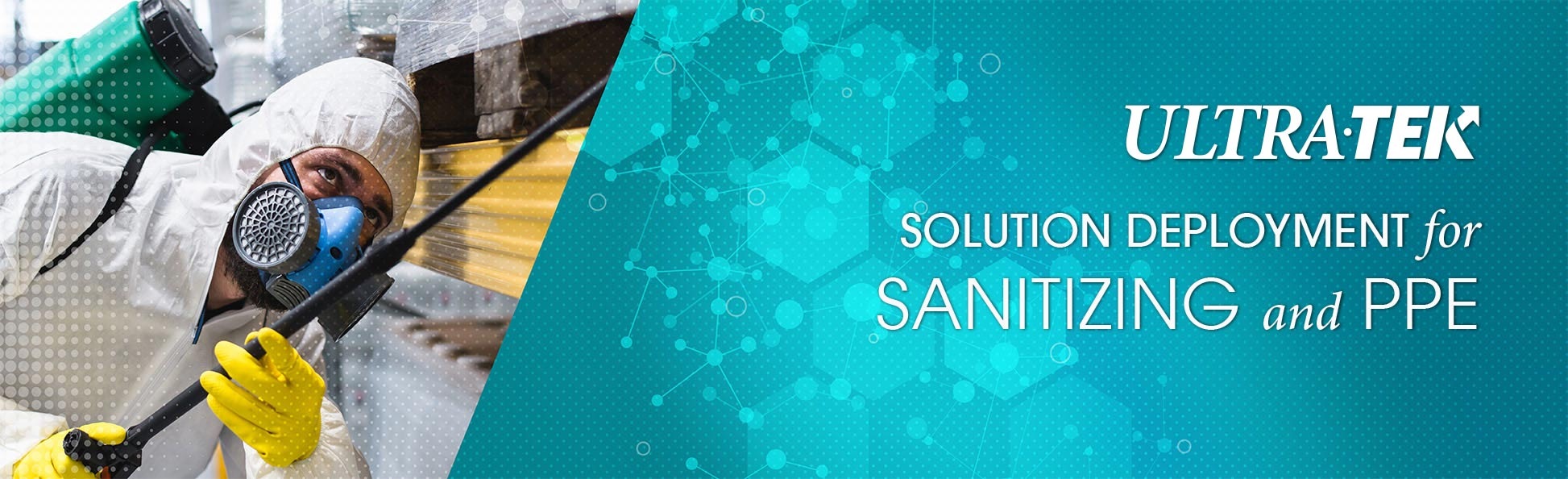 Solution Deployment for Sanitizing & PPE