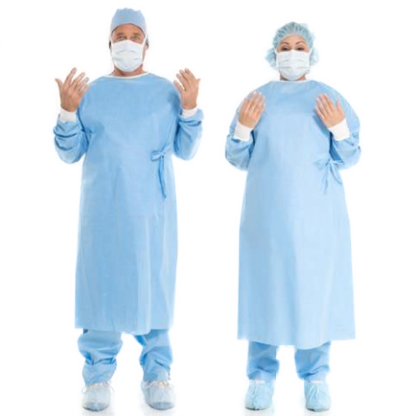 A Photo of a Male and Female Medical Health Worker